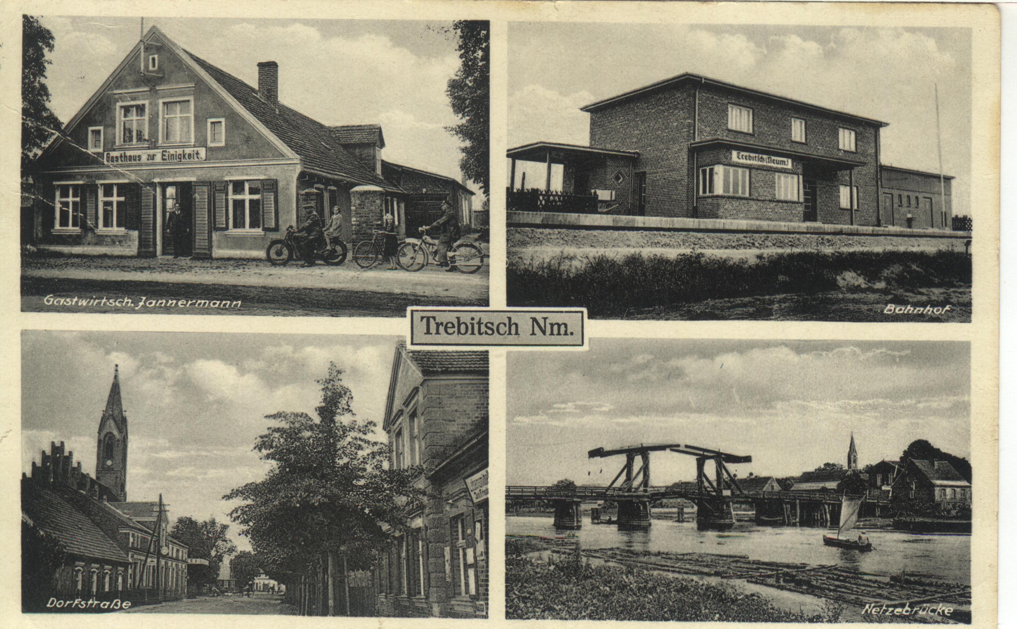 Post Card of Trebitsch Germany